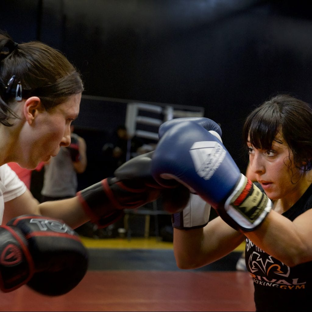 boxing classes for women