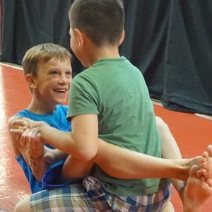 Kids Grappling Pic