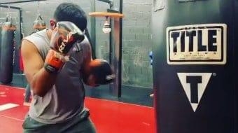 Boxing Bag Training