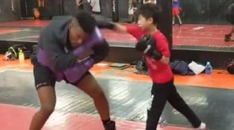 Kids MMA Boxing Training