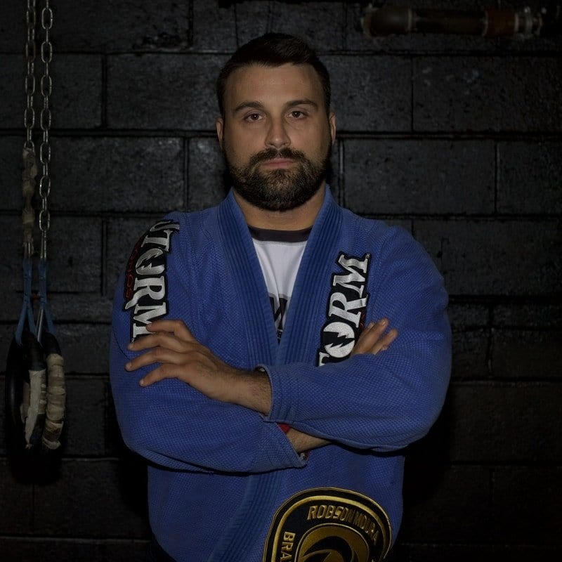 Domenic Passero Brazilian Jiu Jitsu Instructor