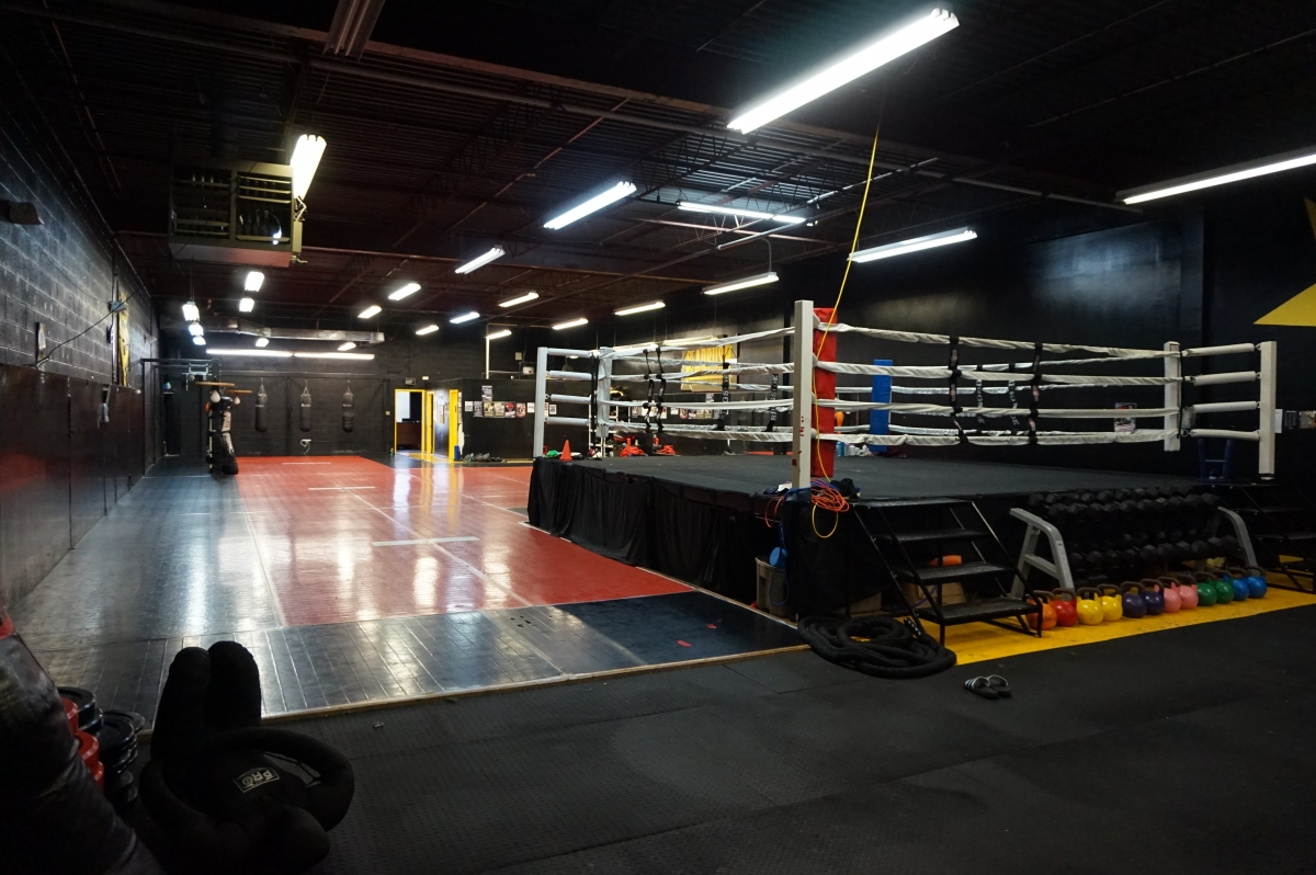 Grants MMA Boxing Gym Facility Picture