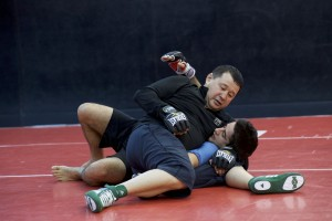 Pro Grappling Head-lock