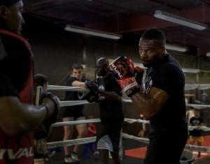 Boxing Steve Rolls