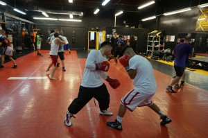 Boxing Class Body Sparring