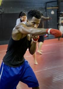 Boxing Class Punch