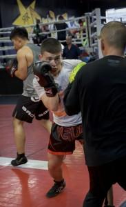 Boxing Class Tech Work
