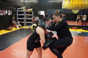 Muay Thai Class Kneeing Pad