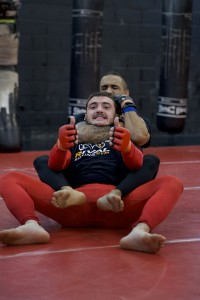Grappling MMA Head-lock