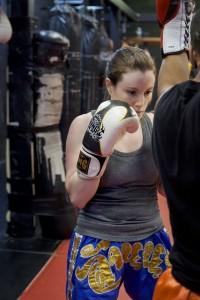 Muay Thai Class Female