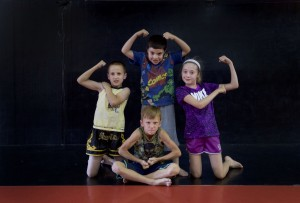 Mini Me Class Strong Pose