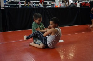 Mini Me MMA Grappling Work