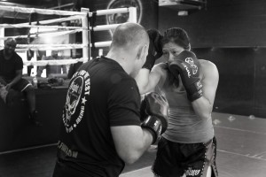 Muay Thai Class Tech Work