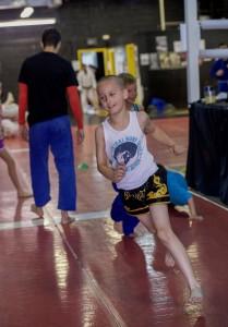 Mini Me MMA Class Running
