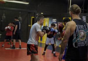 Boxing Class Work